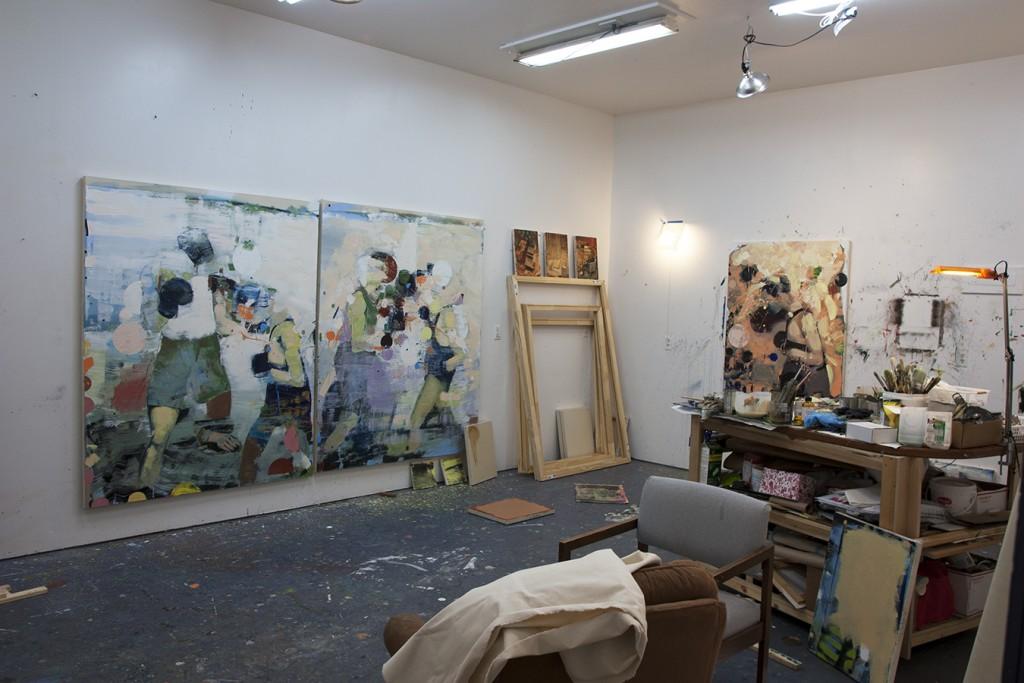 Bartosz Beda |Studio view | Work in progress | Weekly Journal