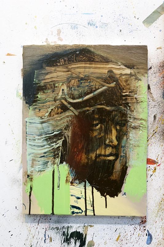 Bartosz Beda | Studio view | Work in progress | Weekly Journal