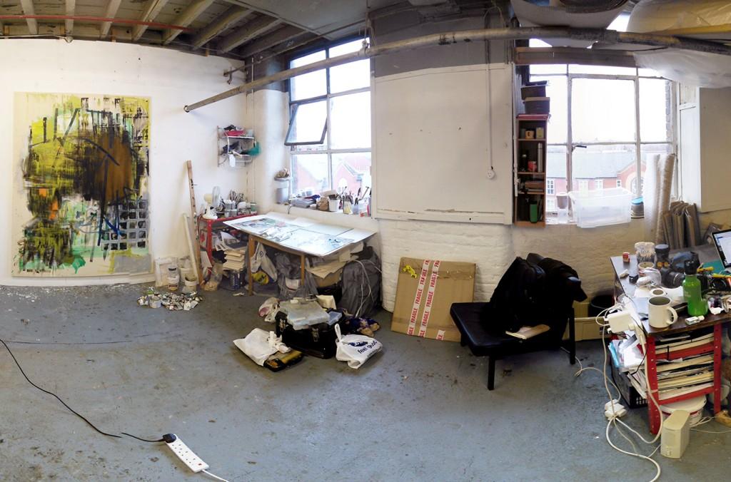 Bartosz Beda, Studio view, Work in progress, Weekly Journal