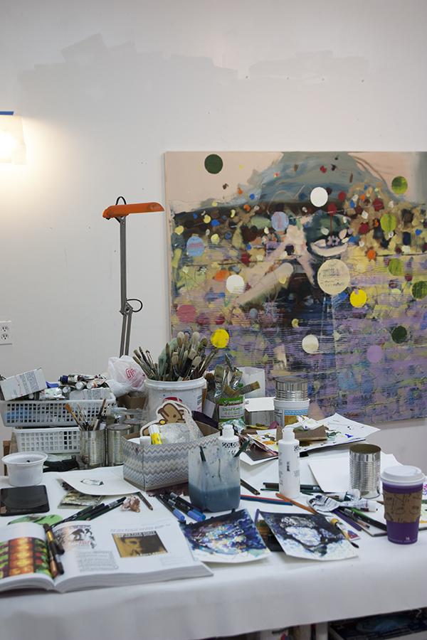 weekly journal, studio view,