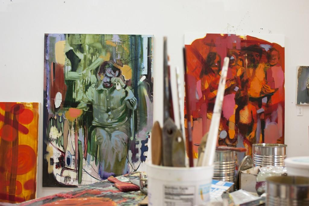 daily studio updates, bartosz beda studio, in progress