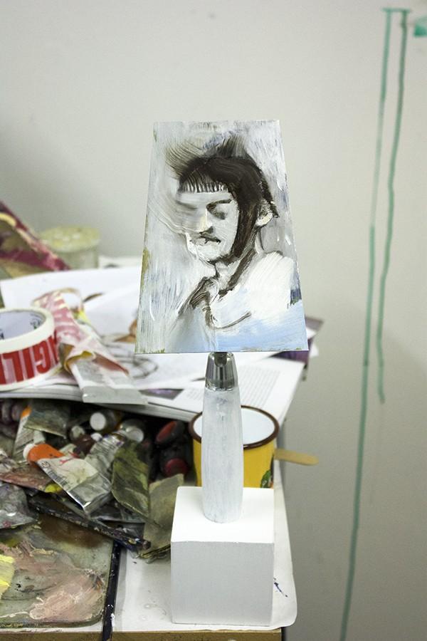 Bartosz Beda Studio, daily studio update, installation, artist studio