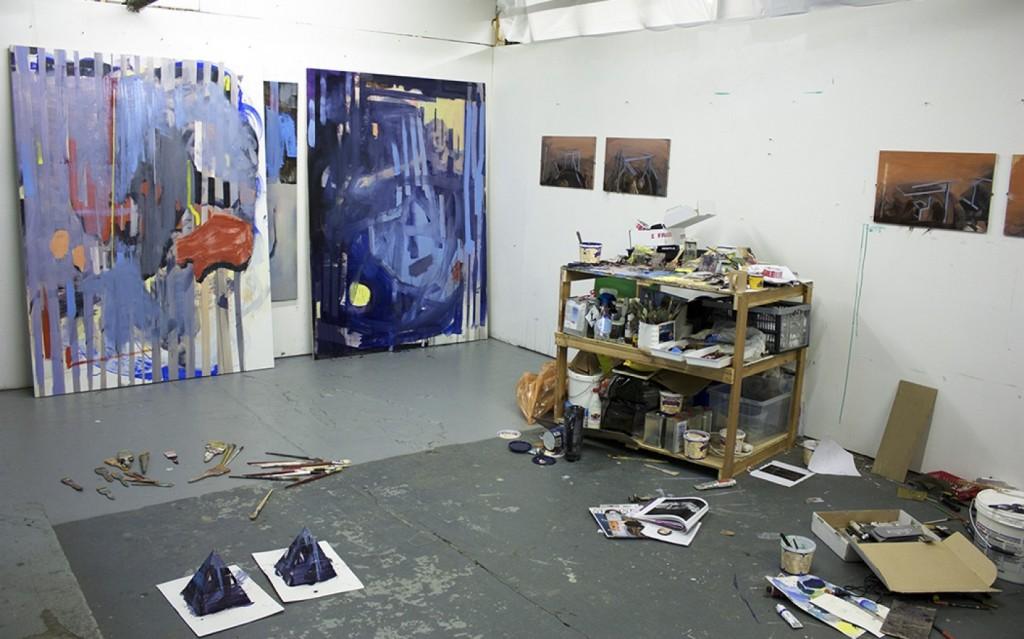 bartosz beda, daily studio updates, pallet, artist studio