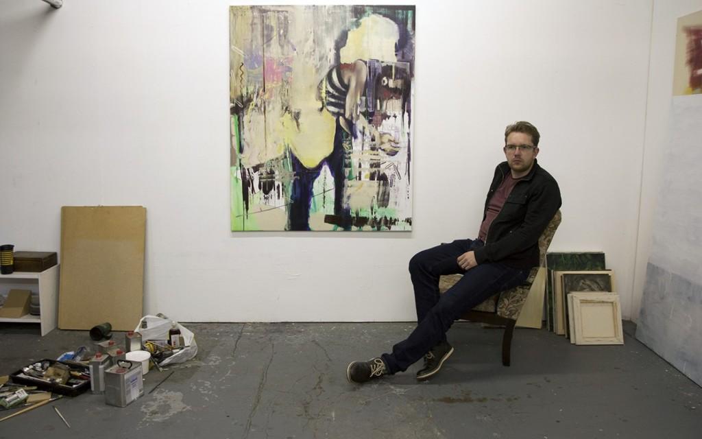 bartosz beda, studio, artist, painter