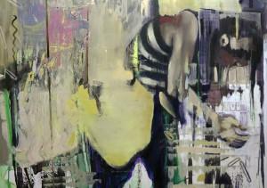 flat emotion, paintings, bartosz beda, oil on canvas, art