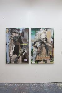 bartosz beda painting, feeling good, 2015, paintings