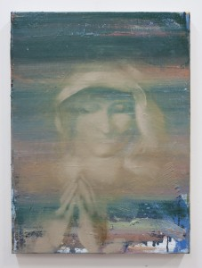Temptation II, oil on canvas, 61,5x46cm, 2014 Bartosz Beda