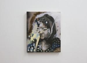 A Girl I Know, oil on canvas, Bartosz Beda