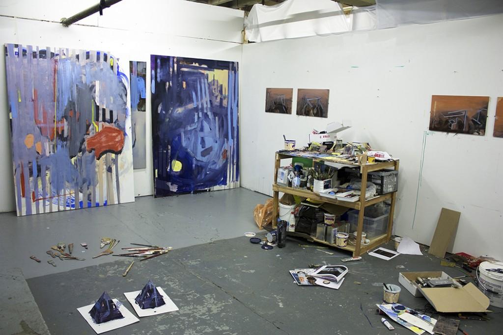 Bartosz Beda Studio, daily studio updates, artist studio