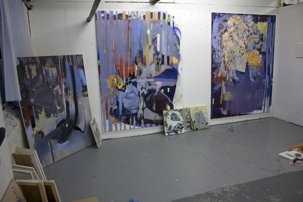 bartosz beda, artist studio