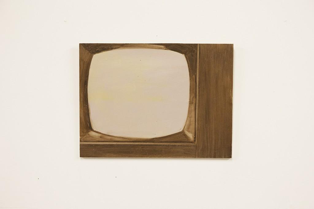bartosz beda studio, paintings, bartosz beda art, bartosz beda artist, artist studio, portrait of tv